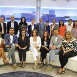 Ana Rosa Quintana y su equipo de colaboradores