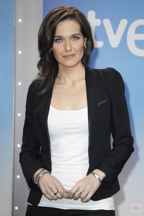 Raquel Martínez, presentadora de 'Telediario Fin de semana'