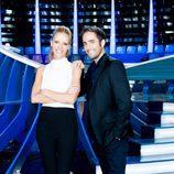 Los presentadores de 'Te lo mereces', Paula Vázquez y Roberto Leal