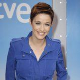 Marta Solano en la presentación de la temporada de TVE