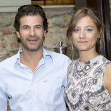 Rodolfo Sancho y Michelle Jenner en la presentación de 'Isabel' en el FesTVal de Vitoria 2012