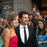 Rodolfo Sancho y Michelle Jenner en el FesTVal de Vitoria 2012