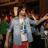 Melendi en la première de 'La Voz' en el FesTVal 2012