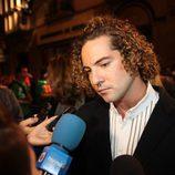 David Bisbal atiende a los medios en la première de 'La Voz' en el FesTVal 2012