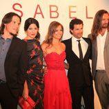 Sergio Peris-Mencheta, Bárbara Lennie, Michelle Jenner, Rodolfo Sancho y William Miller en Vitoria