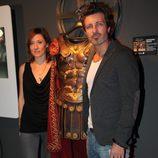 Nathalie Poza y Jesús Olmedo de 'Imperium', en el FesTVal 2012