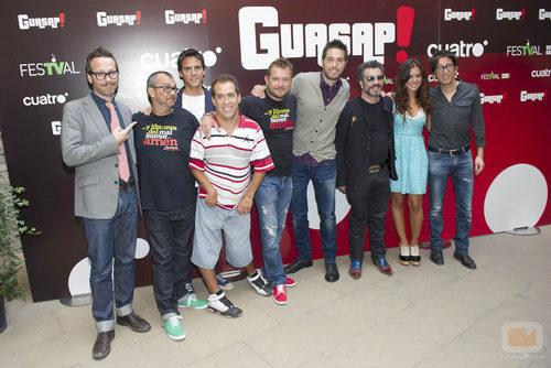 Presentación de 'Guasap!' en el FesTVal de Vitoria