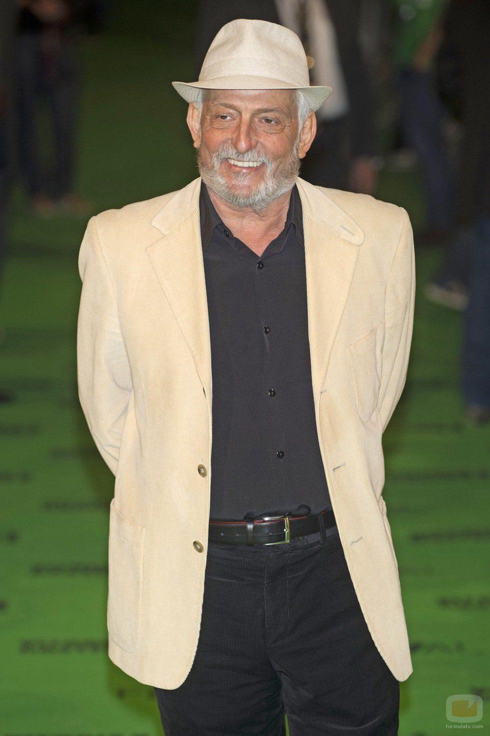 Pepe Sancho, en la alfombra verde del FesTVal de Vitoria