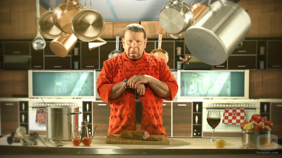 Alberto Chicote en la cocina de 'Pesadilla en la cocina'