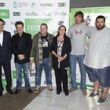 Los presentadores de programas gastronómicos, en el FesTVal de Vitoria