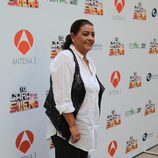 María del Monte, concursante de 'Tu cara me suena', en el FesTVal de Vitoria