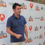 Arturo Valls, concursante de 'Tu cara me suena', en el FesTVal de Vitoria