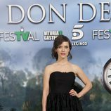 Itsaso Arana posa antes de la premiere de 'El don de Alba' en el FesTVal de Vitoria