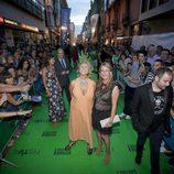 Mercedes Milá a su llegada a la ceremonia de clausura del FesTVal de Vitoria