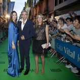 Imanol Arias a su llegada a la ceremonia de clausura del FesTVal de Vitoria