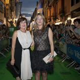 Concha Velasco a su llegada a la ceremonia de clausura del FesTVal de Vitoria