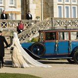 Diego y Alicia Alarcón regresan al 'Gran Hotel' tras su boda