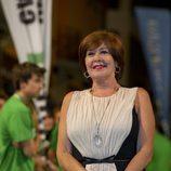 Concha Velasco posa para los fotografos en la clausura del FesTVal de Vitoria