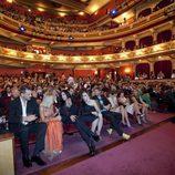 Público asistente a la ceremonia de clausura del FesTVal de Vitoria 2012