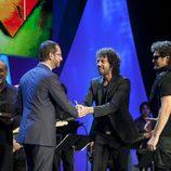 El equipo de 'El hormiguero' recoge el premio Mainat 2012