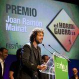 Juan Ibáñez agradece el premio Mainat para 'El hormiguero'