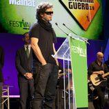 Pablo Ibáñez agradece el premio Mainat para 'El hormiguero'