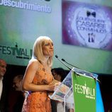 Luján Argüelles agradece el premio a '¿Quién quiere casarse con mi hijo?'