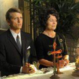 Rose y Boby Kennedy lloran la muerte de JFK