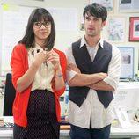 Daniela y Javier, los dos empleados más competentes en 'Fenómenos'
