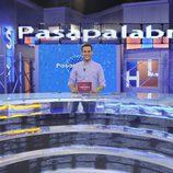 Christian Gálvez, en el nuevo decorado de 'Pasapalabra'