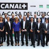 El equipo de deportes de Canal+ en la presentación de la nueva temporada