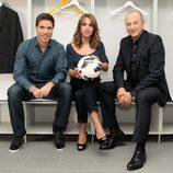 Nacho Aranda, Noemí de Miguel y Pablo pinto conducen 'El día del fútbol'