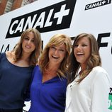 Monica Marchante y Noemí de Miguel en la presentación de temporada de Canal+