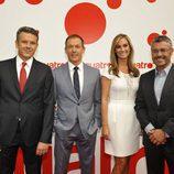 Roberto Arce, Hilario Pino, Marta Reyero y Miguel Ángel Oliver