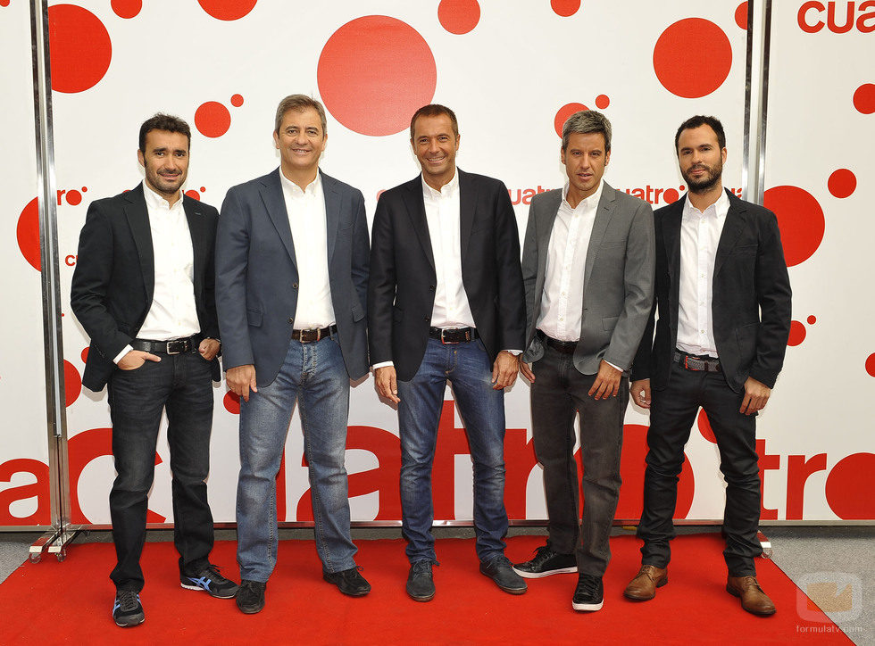 Juanma Castaño, Manolo Lama, Manu Carreño, Nico Abad y Luis García