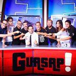 Dani Martínez y todo su equipo de 'Guasap!'
