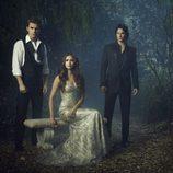 El trío protagonista de la cuarta temporada de 'Crónicas Vampíricas'
