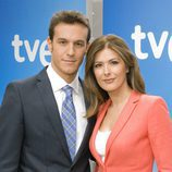 Diego Losada y Lara Siscar, presentadores de 'La tarde en 24h'