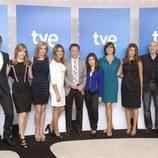 Equipo de presentadores del canal 24h