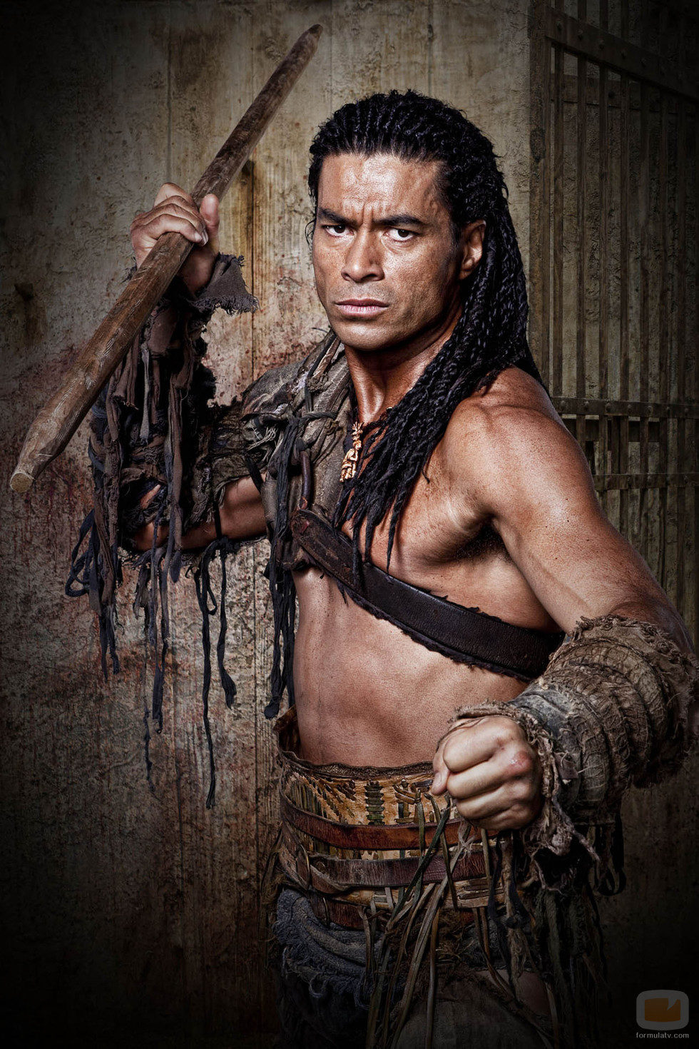 Antonio Te Maioha es Barca en 'Spartacus: Dioses de la arena'