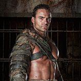 Dustin Clare es Gannicus en 'Spartacus: Dioses de la arena'