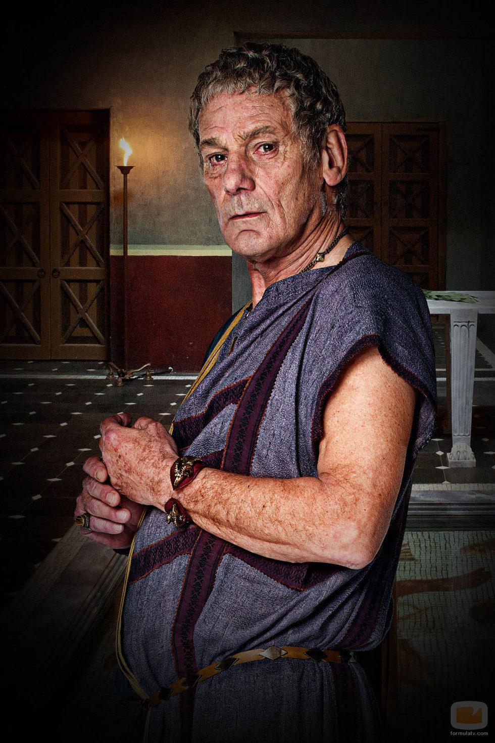 Jeffrey Thomas es Titus en 'Spartacus: DIoses de la arena'