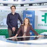 Pepa Bueno y Javier Gallego