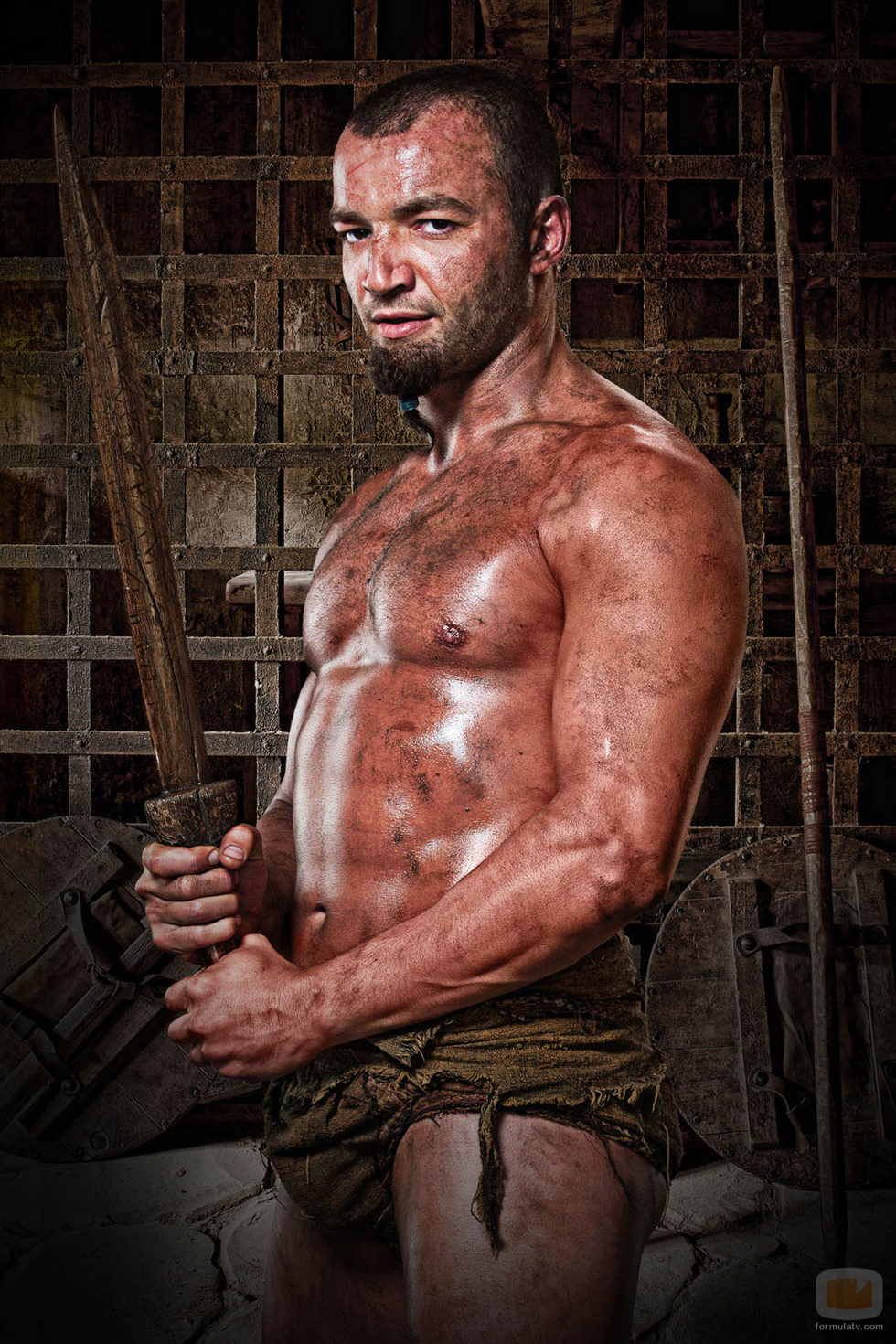 Nick E. Tarabay es Ashur en 'Spartacus: Dioses de la arena'