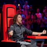 David Bisbal celebra una gran actuación en 'La Voz'