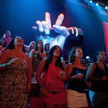 El público asistente a 'La Voz' sí que podrá ver el rostro de los concursantes