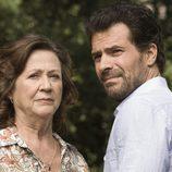 Julieta Serrano y Rodolfo Sancho trabajan en 'Historias robadas'