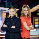 Marc Martín y Montse Busquets, presentadores de la segunda temporada de 'Conexión TDP'