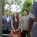 Chuck, Blair y Dan se despiden de 'Gossip Girl'