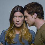 Jennifer Carpenter y Michael C. Hall en la séptima temporada de 'Dexter'